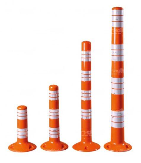 Различные варианты длинны столбиков парковочных Полифлекс