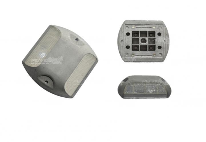 Металлические светоотражатели устанавливаемые на асфальтовую поверхность
