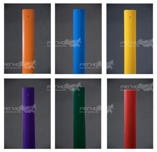 Варианты расцветки столбика сигнального дорожного стилфлекс
