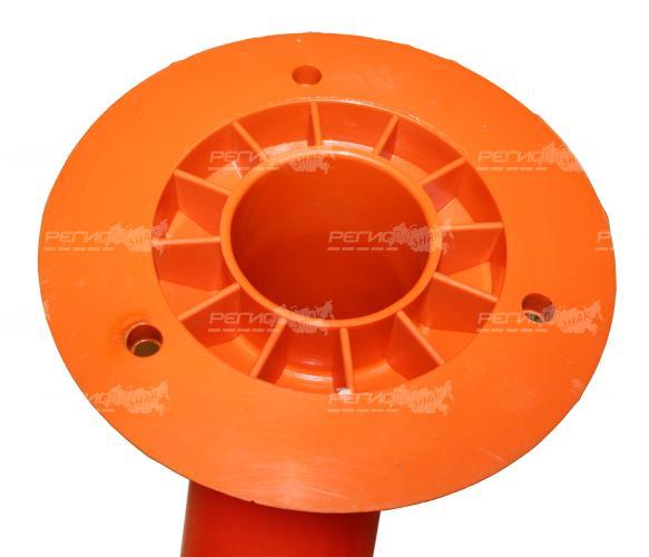 Внешний вид основания ССУ длинной 750 мм. Столбик сигнальный упругий
