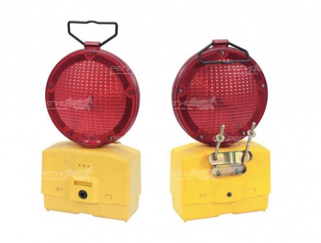 Дорожные фонари красного цвета, внешний вид