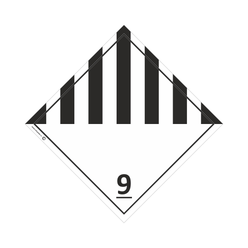 Знак Класс 9. Прочие опасные вещества и изделия