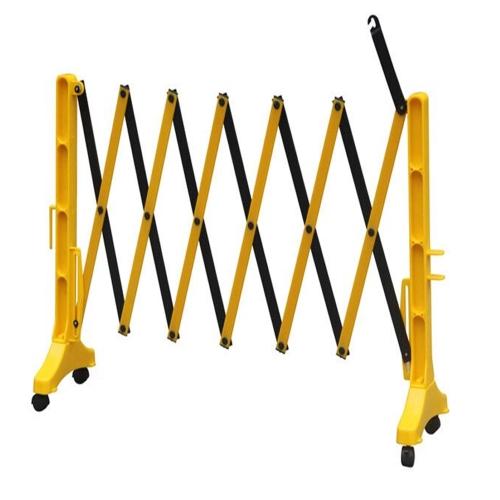 РАЗДВИЖНОЕ ОГРАЖДЕНИЕ НА КОЛЕСАХ «Желтый забор на колесах»