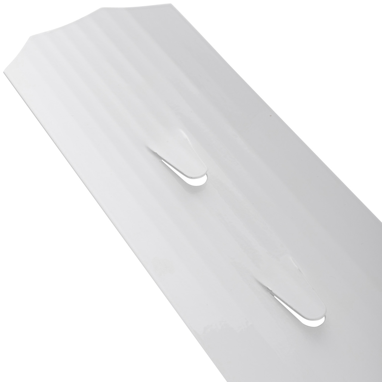 Столбик сигнальный дорожный стилфлекс с прямым верхом с пленкой вид нижней части