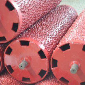 Готовые после восстановления ролики для тормозных стендов